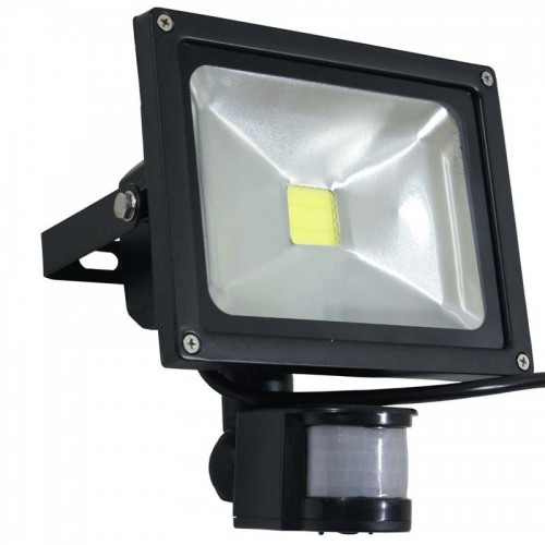 Proiector led 12v 10w cu senzor de miscare