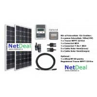 Kit fotovoltaic 200W 12v