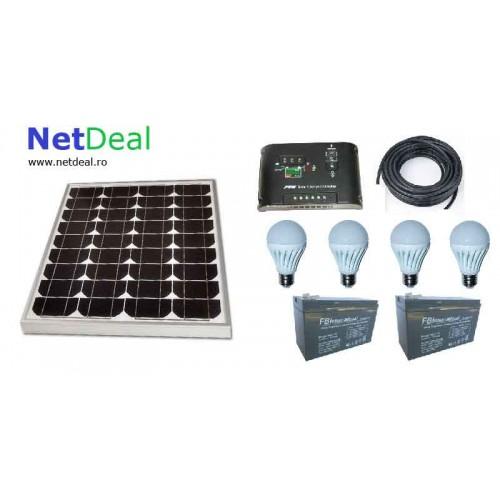 Kit Solar iluminat ieftin 40w