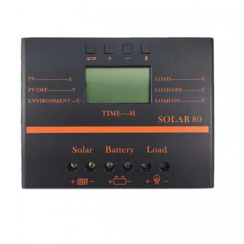 Regulator de incarcare pwm solar 80A cu afisaj