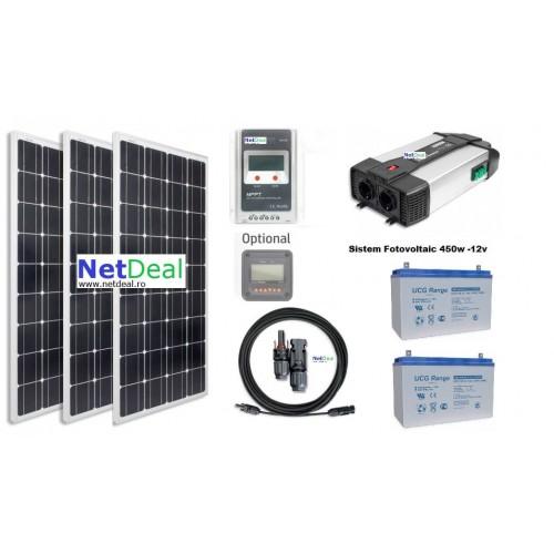 Panou solar fotovoltaic 12v 33